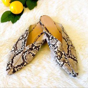 Zara Trafaluc Flat Mules Size 40 / 9.5 U.S.